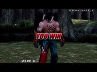 Tekken- Dark Resurrection (PSP) Story Battle as Devil Jin