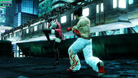 Zafina (Stance) versus Kazuya Mishima (Tekken 6)