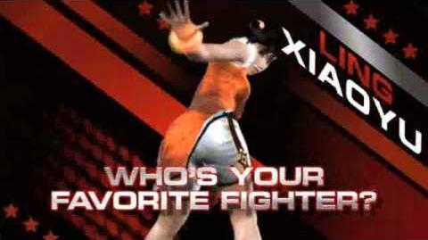Tekken 6 - Ling Xiaoyu Trailer