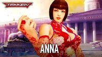 Tekken Mobile - iOS Android - Anna Williams (Reveal Trailer)