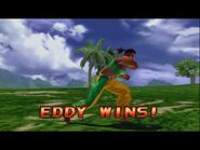Tekken 3 - Eddy Gordo (Intros & Win Poses)