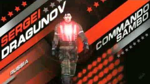 Tekken 6 - Sergei Dragunov Trailer