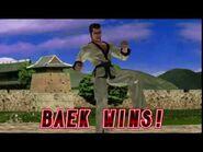 Tekken 2 - Baek Doo San (Win Poses)