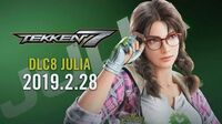 Julia Chang Trailer - Tekken 7