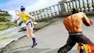 Ling Xiaoyu versus Jin Kazama (Tekken 6)