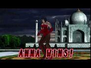 Tekken 2 - Anna Williams (Win Poses)