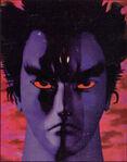 Devil Kazuya portrait Tekken2