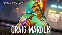 Tekken 7 - PS4 XB1 PC - Craig Marduk (Season Pass 2 Character Trailer)