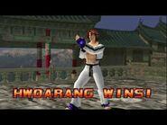 Tekken 3 - Hwoarang (Intros & Win Poses)