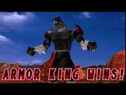 Tekken 2 - Armor King (Win Poses)