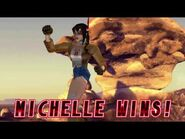 Tekken 2 - Michelle Chang (Win Poses)