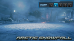 T7 stage - snowfall