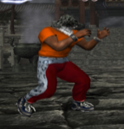 Tekken Tag 1- King player 3 outfit