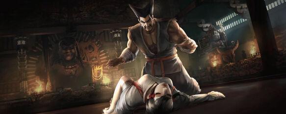 Heihachi e kazumi