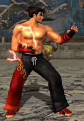 Jin kazama omen stance tekken tag tournament.png