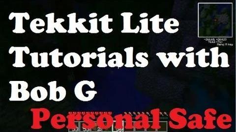 Tekkit Lite Tutorial - Personal Safe