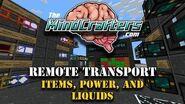 Tekkit Lite - Tutorial - Remotely Transport Items, Liquids, and Power