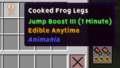 Coocked Frog