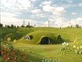 Concept art of Teletubbyland of Walt Disney Animation France