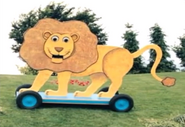 The Scary Lion with Big Scary Teeth