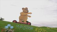 Bear down the hill