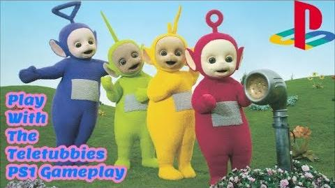 Play With The Teletubbies PS1 Gameplay