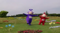 Tinky Winky and Po Copying