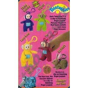1999 Burger King Promotional Teletubbies Toys