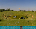 Concept art of Teletubbyland in PowerAnimator