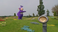 Tinky Winky plays Jumping