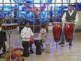 Drumming with Norris