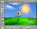 Concept art of Sunflower from Kellogg's Rice Krispies