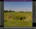 Concept art of Teletubbyland in Softimage