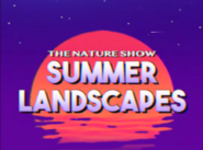 The nature show