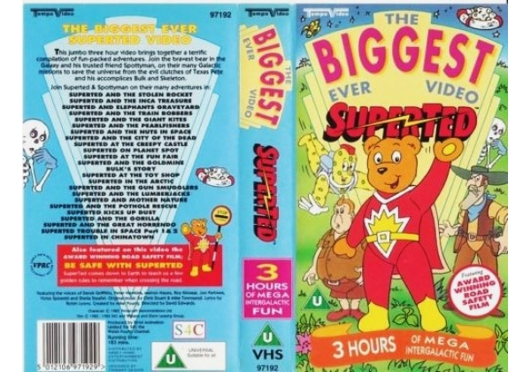 The Biggest Ever SuperTed Video