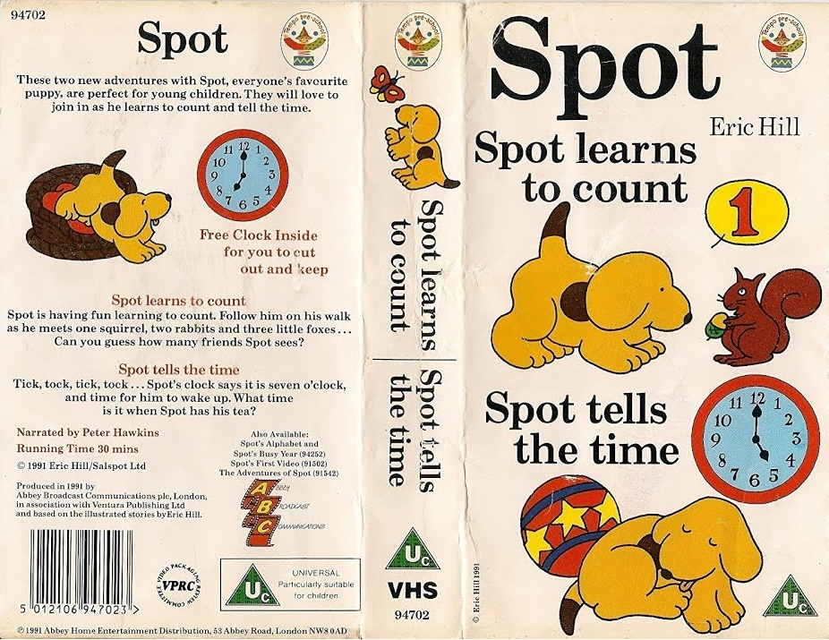 Spot Learns to Count/Spot Tells the Time