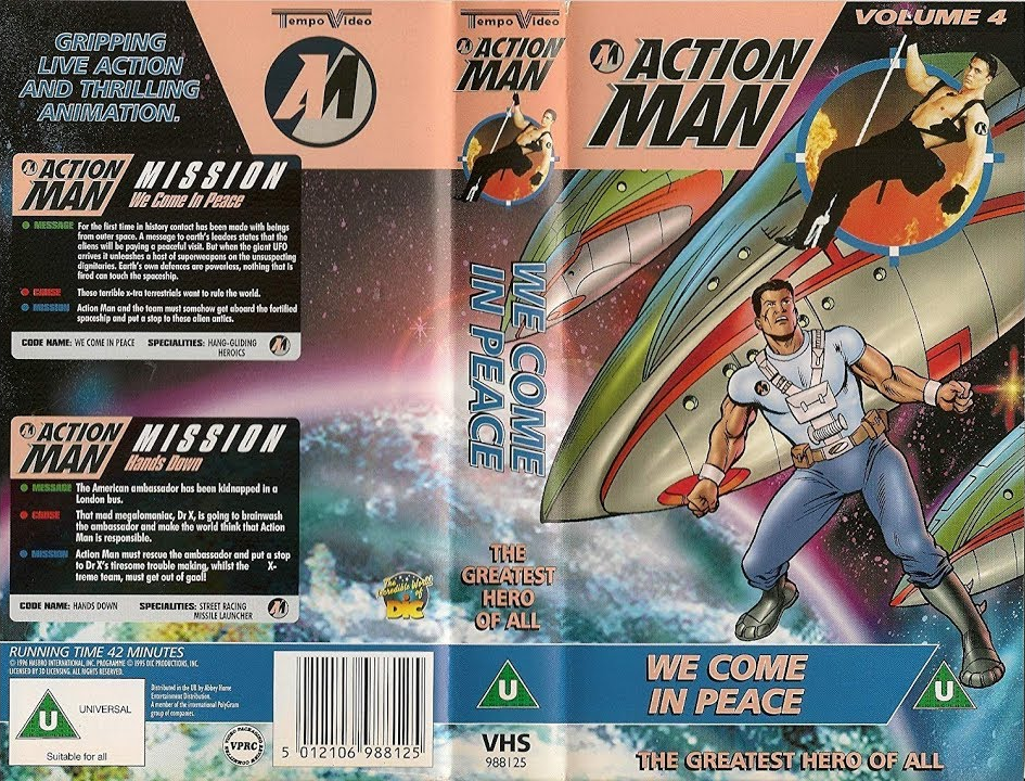 Action Man - Volume 4 - We Come in Peace