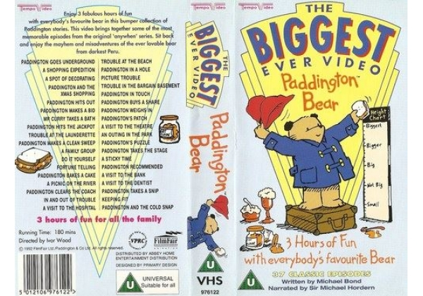 The Biggest Ever Paddington Bear Video