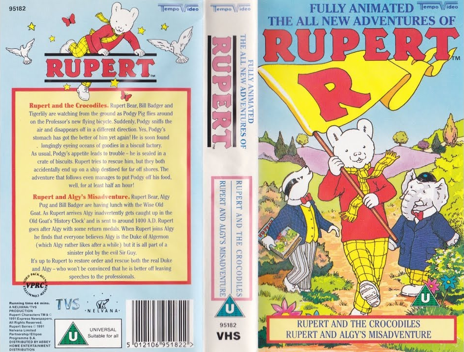The All New Adventures of Rupert - Rupert and the Crocodiles