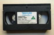 SuperTed's Bumper Video (UK VHS 1990) Cassette