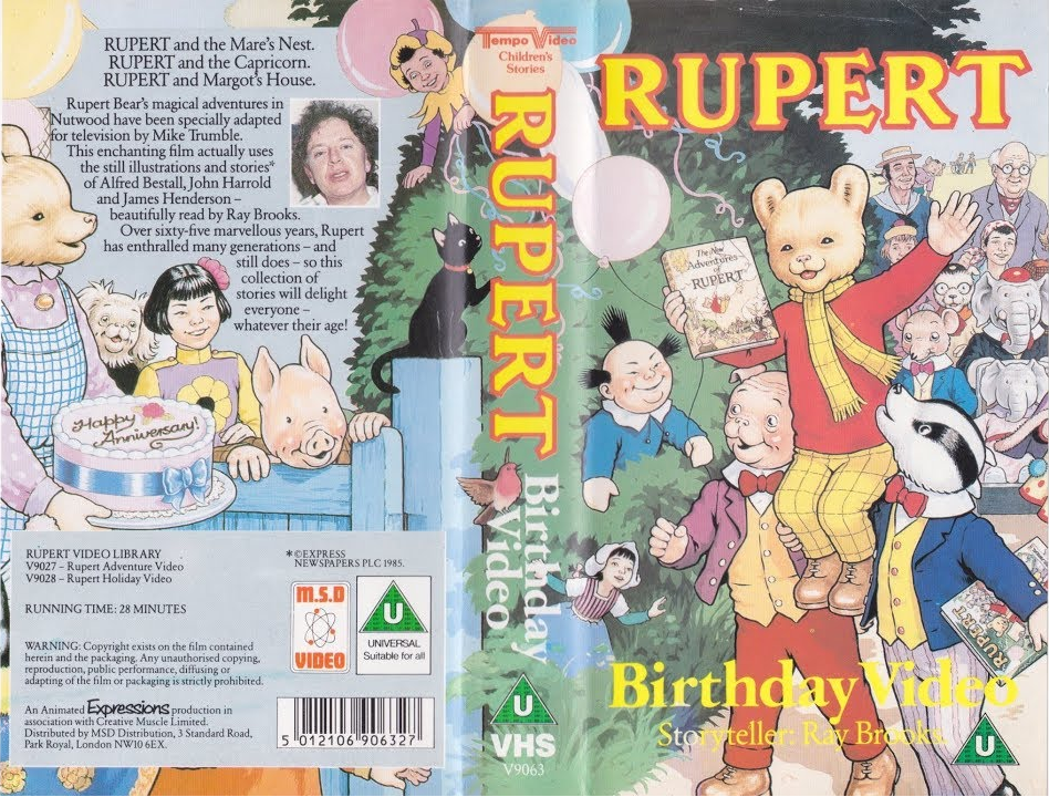 Rupert - Birthday Video