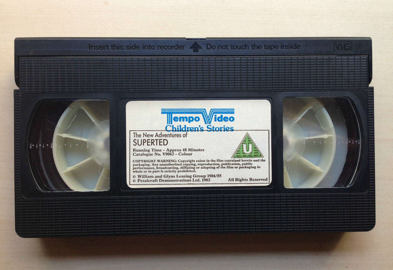 Cracks the Case VHS