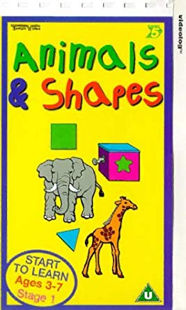 School Zone - Animals and Shapes