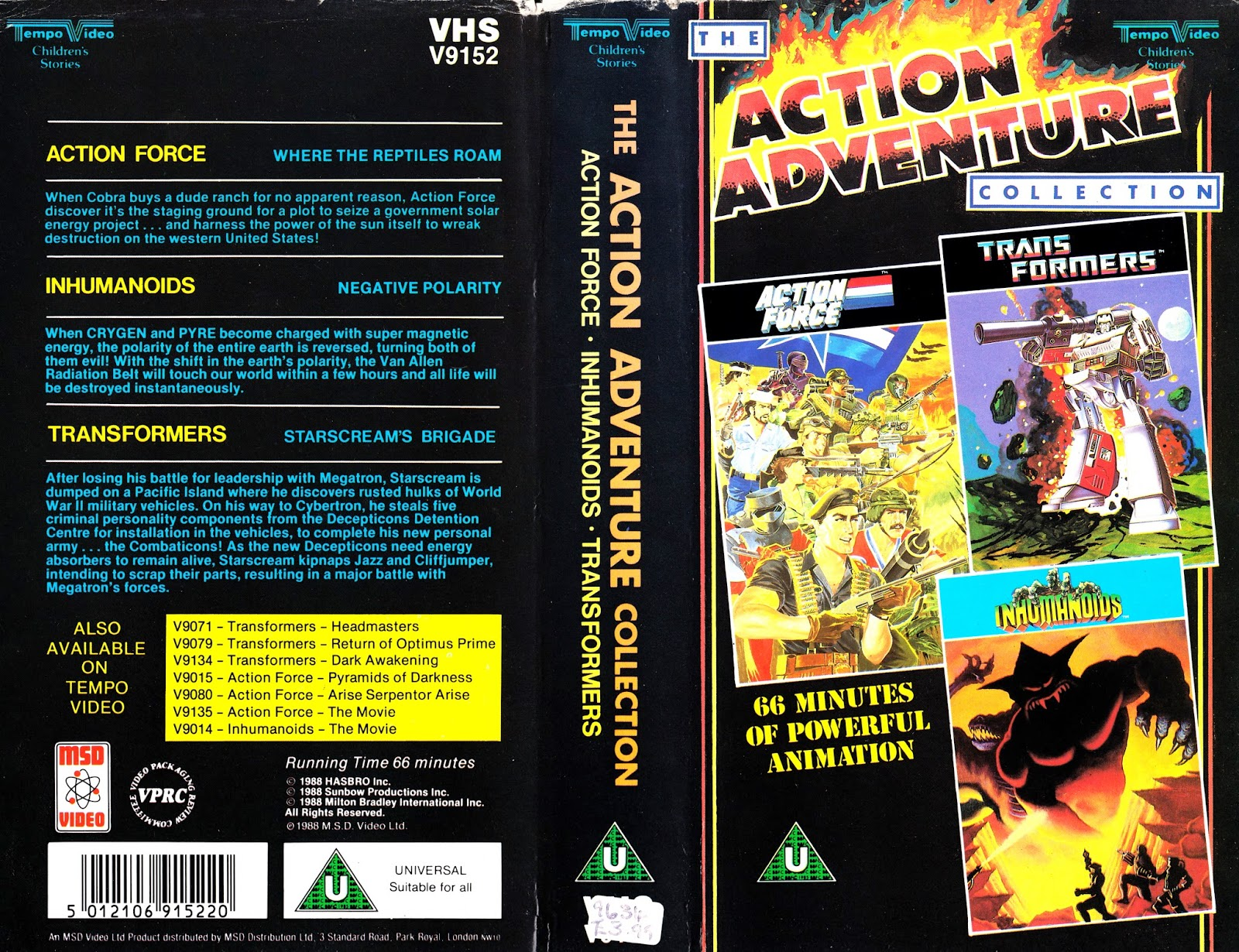 The Action Adventure Collection 1