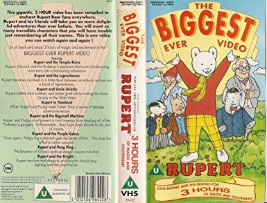 The Biggest Ever Rupert Video
