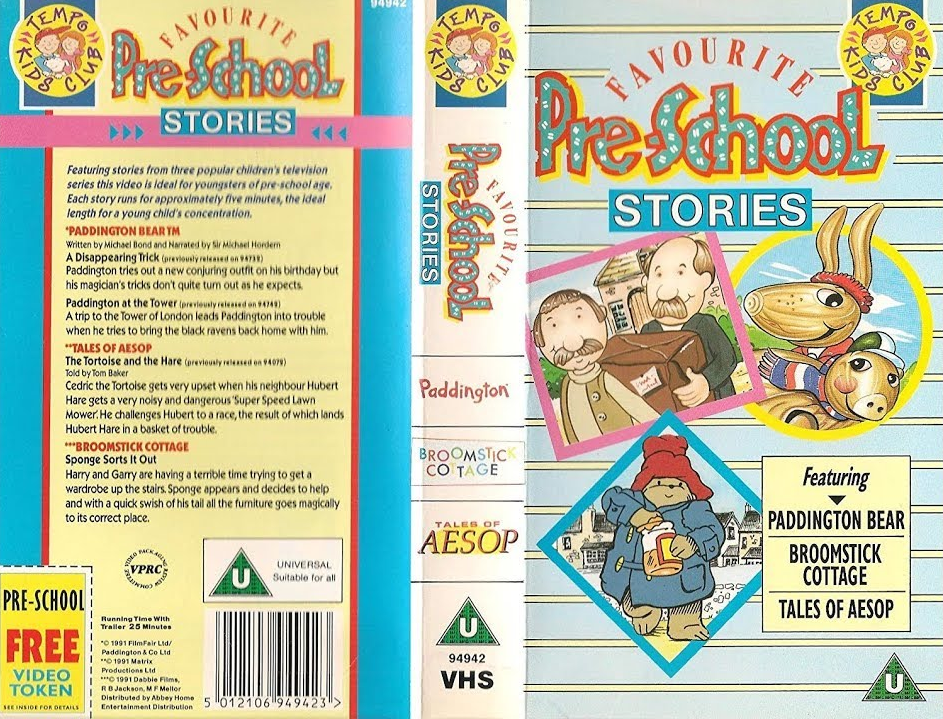 Favourite Pre-School Stories