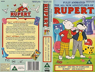 The All New Adventures of Rupert - Rupert and Bill in Gameland
