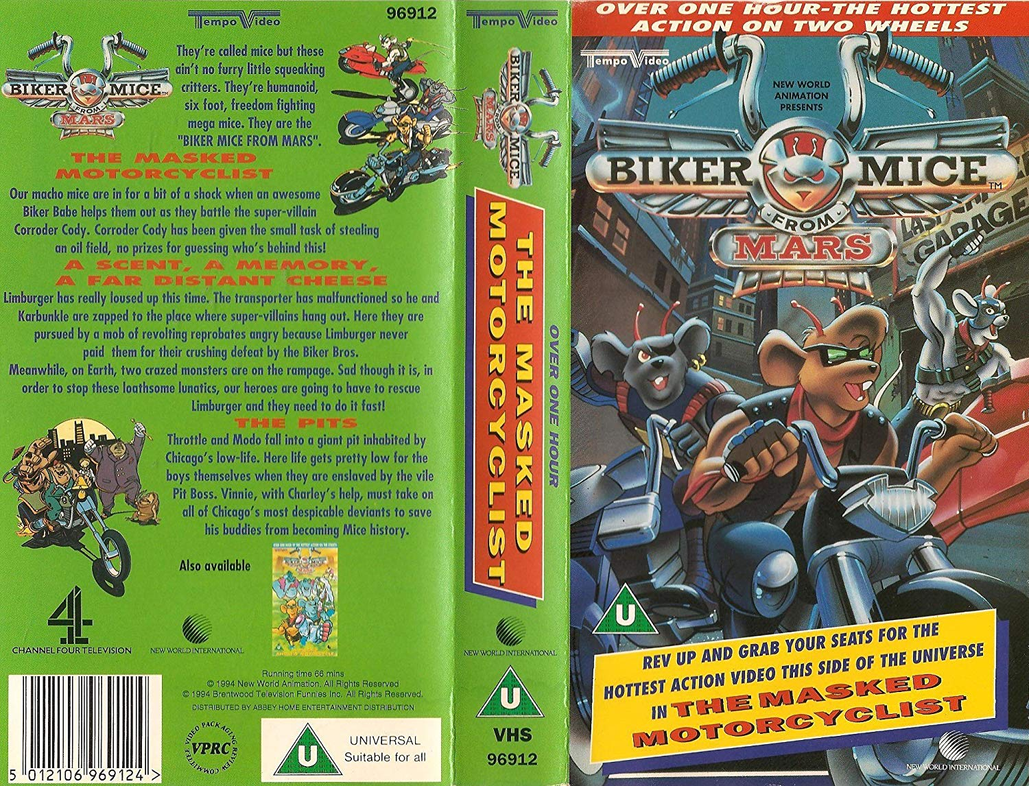 Biker Mice From Mars - The Masked Motorcyclist