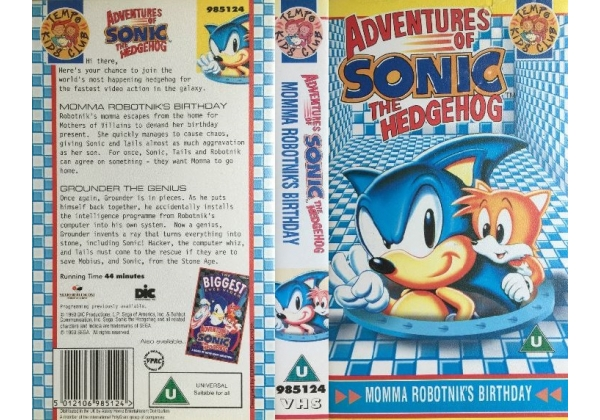 Adventures of Sonic the Hedgehog - Momma Robotnik's Birthday