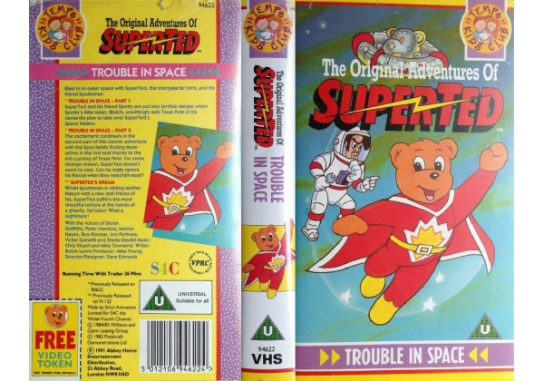 The Original Adventures of SuperTed - Trouble in Space